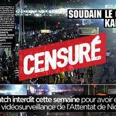 Paris Match interdit cette semaine pour avoir eu accès à la vidéosurveillance de l'Attentat de Nice ? #censure - SANSURE.FR