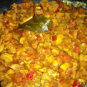 Ratatouille jaune confite - cookcookies.over-blog.com