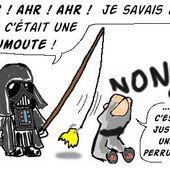 Humour Star Wars: Moumoute, attrapée une fois