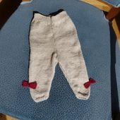 tuto gratuit leggings au tricot pour bébé - libelluledunord