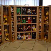 Malle marionnettes - Meubles en carton - Angers