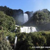 Cascata Delle Marmore, les chutes d'eau les plus hautes d'Europe. #Italie - Le coin des voyageurs