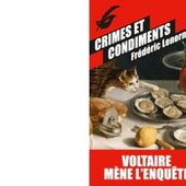 Frédéric LENORMAND : Crimes et condiments. - Les Lectures de l'Oncle Paul
