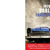 Jacques BABLON : Trait bleu. - Les Lectures de l'Oncle Paul