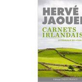 Hervé JAOUEN : Carnets irlandais. - Les Lectures de l'Oncle Paul