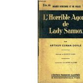 Arthur Conan DOYLE : L'horrible agonie de Lady Sannox. - Les Lectures de l'Oncle Paul