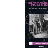 Revue Le Rocambole N°77 : Retours sur Edgar Poe. - Les Lectures de l'Oncle Paul