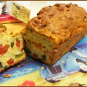Recette : Cake Lardons Poivrons - Les Gralettes