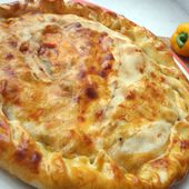 Recette : Pizza regina en tourte - Les Gralettes