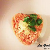 Recette : Risotto rose aux crevettes - Les Gralettes
