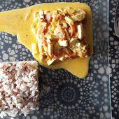 Recette : Tofu Coco Curry - Les Gralettes