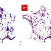 Carte de France de la couverture mobile 4G - Chroniques Cartographiques