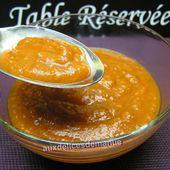 sauce aux légumes cuisinés - auxdelicesdemanue