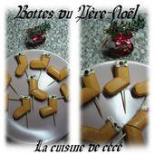 Bottes du Père-Noël - La cuisine de cécé