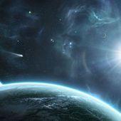La Planète X s'approche causant un climat dévastateur et l'activité sismique