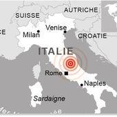 ITALIE : Deux secousses de magnitude 5,4 et 5,9 touchent à nouveau le centre faisant au moins un blessé - MOINS de BIENS PLUS de LIENS