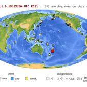 Nouvelle-Zélande : alerte au tsunami après un séisme de magnitude 7,8 (VIDEO) - MOINS de BIENS PLUS de LIENS