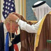 MAJ= USA : Première destination du voyage diplomatique de Trump: l'Arabie Saoudite. Voilà pourquoi: le gendre de Trump, Jared Kushner, a conclu un accord de vente d'armes pour un montant de 110 milliards de dollars - MOINS de BIENS PLUS de LIENS