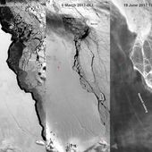 Premières images du méga iceberg qui s'éloigne de l'Antarctique - MOINS de BIENS PLUS de LIENS