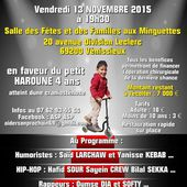 Vénissieux : Gala de Solidarité en faveur du petit Haroune - ICIVENISSIEUX (Initiative Citoyenne Indépendante de Vénissieux), média de partage des quartiers de Vénissieux
