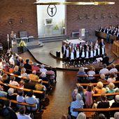 Phänomenales Konzert von vier Chören aus drei Nationen in der Veitshöchheimer Kuratiekirche - Veitshöchheim News