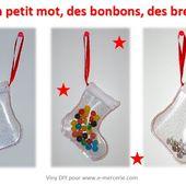 Botte de Noël en cristal pailleté - Viny DIY, le blog de tutos couture.