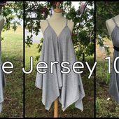 Coudre une Robe en Jersey en 10 mn - Tuto Couture DIY - Viny DIY, le blog de tuto couture &amp&#x3B; DIY.