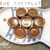 Crème onctueuse au chocolat - My homemade cook