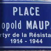 Un nom, un résistant : Léopold MAUPAS à Moulins - Histoire et Généalogie