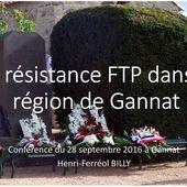 Prochaine conférence : 18 septembre 2016 à Gannat - Histoire et Généalogie