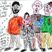 Bozo le Clown - sleazy-caricatures