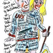 Je ne voterai pas Macron - sleazy-caricatures