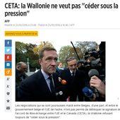 [Pétition] Soutien à la Wallonie contre le CETA + scandale en préparation - Ça n'empêche pas Nicolas