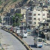 Syrie: les miliciens - les rebelles - quittent pour la première fois Damas depuis 2011 - Ça n'empêche pas Nicolas