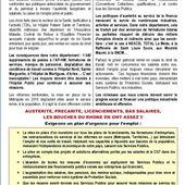 CGT: Pour vivre, travailler et se soigner dignement dans les BOUCHES du RHÔNE : Manifestation jeudi 25 juin 2015 à Marseille