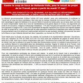 LOI TRAVAIL: sept syndicats appellent à des GRÈVES et MANIFESTATIONS les 17 et 19 mai 2016 - Commun COMMUNE [El Diablo]