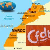 La CFDT délocalise au MAROC... [Le Canard Enchaîné] - Commun COMMUNE [El Diablo]