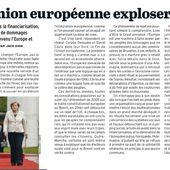 Quand L'UNION EUROPÉENNE explosera [par Jack Dion - MARIANNE]