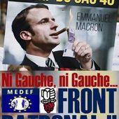Emmanuel MACRON, le candidat du FRONT PATRONAL - Commun COMMUNE [le blog d'El Diablo]