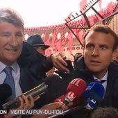 Quand Philippe DE VILLIERS, soutien de M.LE PEN, faisait l'éloge de MACRON...