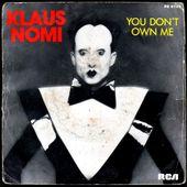 Klaus Nomi - falling in love again (face B) - 1981 - l'oreille cassée