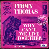 Timmy Thomas - why can't we live together - 1972 - l'oreille cassée