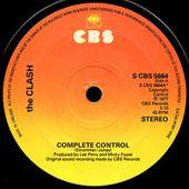 The Clash - Complete control b/w The city of the dead - 1977 - l'oreille cassée