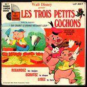 Les Trois petits cochons - raconté par Jacques Duby - l'oreille cassée