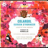 Colargol ourson d'honneur - 1964 - l'oreille cassée