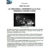 u2 actualitees - U2 BLOG