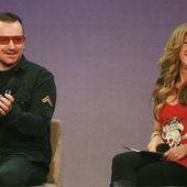 Bono et Shakira - U2 BLOG