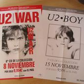 U2 posters affiches promo the Kiosk - U2 BLOG