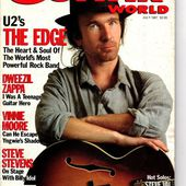 U2- Magzine Guitar World -Juillet 1987 - U2 BLOG