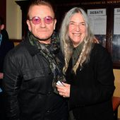 Bono et Patti Smith, Dublin 04/11/2016 - U2 BLOG
